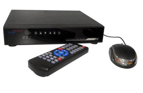 DVR Stand Alone Luxvision 8 Canais Compacto