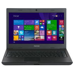 "Notebook 14"" LED Celeron/2GB/250GB S1990 Positivo"