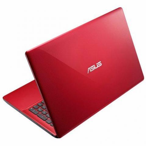 "Notebook Asus Intel Core i3 4GB 500GB Tela LED 15,6"" Windows 8 - Vermelho"