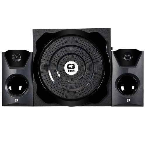 Subwoofer 2.1 C3 Tech SP-242 45W RMS Preto