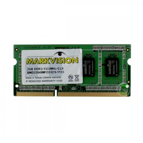 Memoria Notebook 2GB DDR3 1333 Markvision