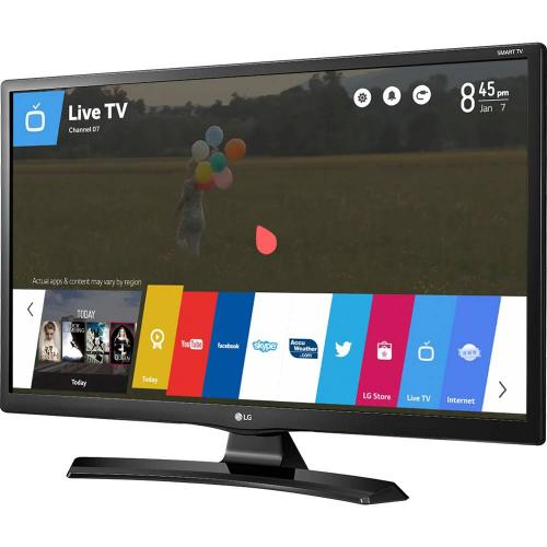 "Smart TV LED 28"" HD LG 28MT49S-PS com Wi-Fi, WebOS, Conversor Digital Integrado, Screen Share, Cinema Mode, HDMI e USB"