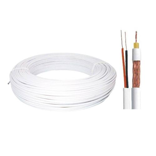 Cabo Coaxial 4MM + Bipolar 80% 2X26 AWG 100M