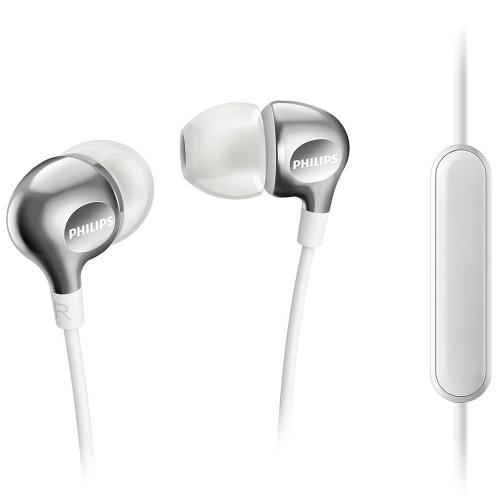Fone de Ouvido Intra Auricular SHE3705WT Philips