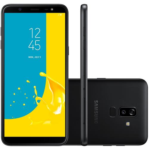 "Smartphone Samsung Galaxy J8 6"" 16/16MP 64GB Preto"