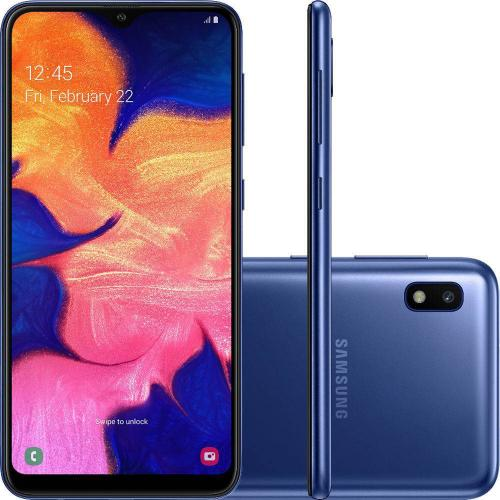 "Smartphone Samsung Galaxy A10 6.2"" 13/5MP 32GB Azul"