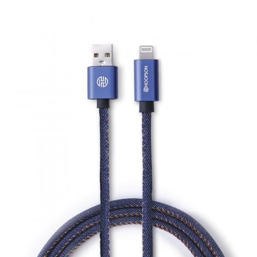 Cabo USB p/ Iphone CH04 Jeans - Hoopson